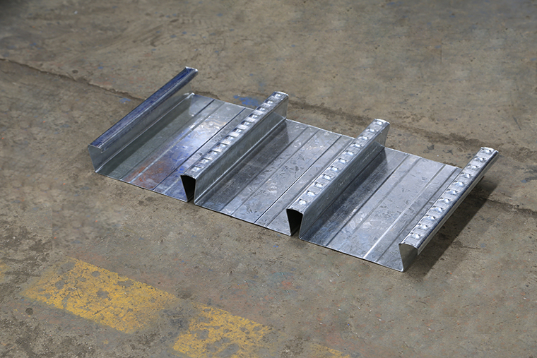 Floor Decking Roll Forming Machine Sample