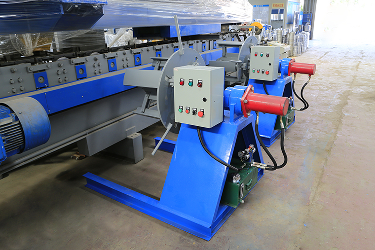 CZ purlin machine decoiler