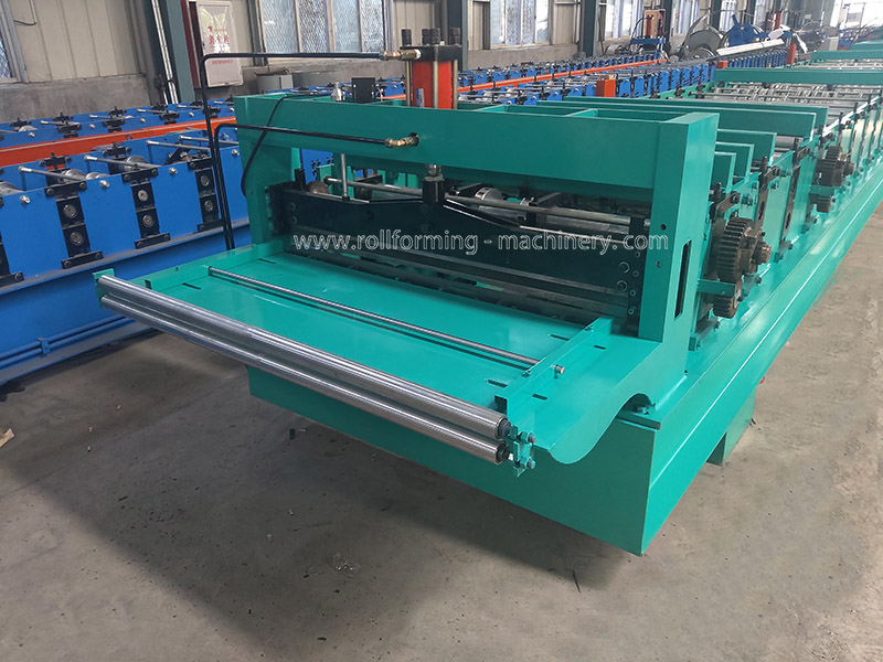 Taiwan Type Floor Decking Roll Forming Machine