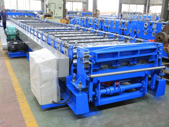 Floor Decking Roll Forming Machine for YX51-750 Profile