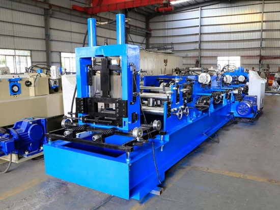 Quick Change C Purlin Roll Forming Machine