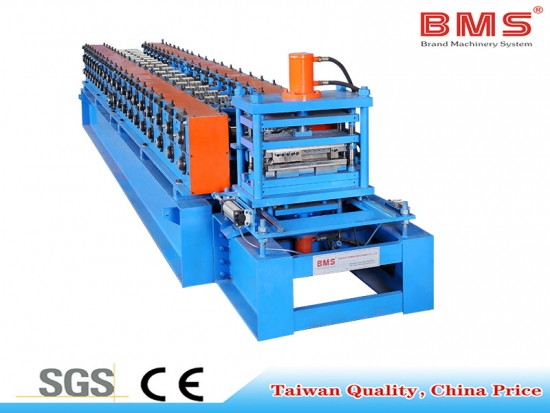 Shelf Deck Panel Roll Forming Machine