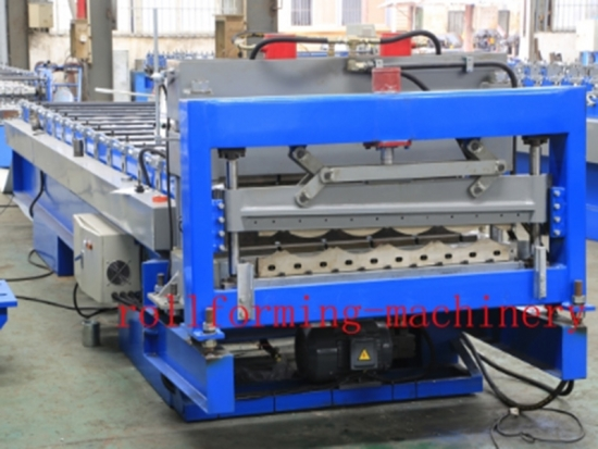 Glazed Tile Roll Forming Machine for YX16-800