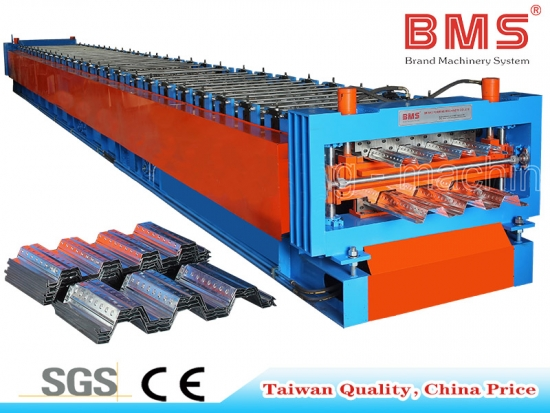 Full AUTO Floor Decking Roll Forming Machine